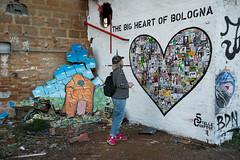 R.U.S.C.O. - Street Art a Bologna #1 (Gianni Trux) Tags: streetart ex arte heart bologna gianni bolognese fiera nikkon contemporanea d600 trux spazi rusco urbani nikkonlens trudu giannitruduphotos iostoconblu zincaturificio