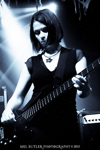 Guest live bassist Joanna Moy