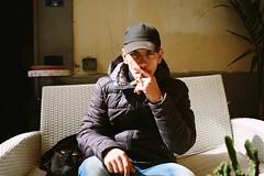 Daniele (Sara Coratella) Tags: pictures boy italy house home girl beautiful beauty canon 50mm photo sara italia foto photos cigarette picture napoli naples bella 24mm ritratto caff interni bellezza bello sigaretta bellissima bellissimo coratella 1200d
