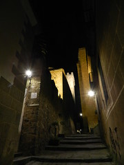 Cuesta de la Compaia Torre de las Cigueas Caceres  01 (Rafael Gomez - http://micamara.es) Tags: las de la torre unesco compaia cuesta caceres cigueas humanidad patrimonio