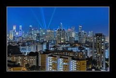 TWB_0757 (xxtreme942) Tags: singapore cityscape view nightscape bluehour hdb mbslasershow