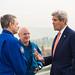 Secretary of State John Kerry Meeting with Astronaut Scott Kelly and Cosmonaut Mikhail Kornienko (NHQ201603240011)