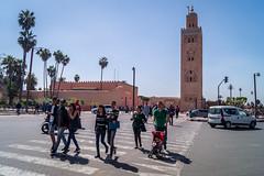 Koutoubia (tattie62) Tags: travel people tourism places morocco marrakech koutoubia