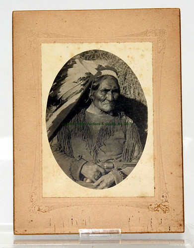 Native American Photo - $495.00 (Sold August 28, 2015)