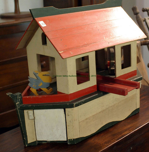 Wooden Noah's Ark & Animals - $275.00 (Sold July 10, 2015)
