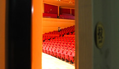 Secret Whispers (manuel_blacksea) Tags: china red asia whisper seat wuhan concerthall
