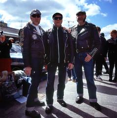 Italians (holloway steve) Tags: london fuji hasselblad velvia velvia100 kingscross italians 500cm autaut classiccarbootfair