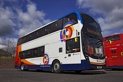 10511 SN16OLU (barry.young10) Tags: west bus scotland coach double deck 400 western alexander dennis mmc kilmarnock stagecoach enviro decker 10511 e400 sn16olu