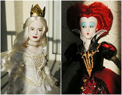 Alice Through the Looking Glass (They Call Me Obsessed) Tags: new red white film glass movie hearts anne doll dolls looking alice live barbie royal disney queen collection mia carter helena through wonderland limited edition rare princesses hathaway upcoming sequel bonham 2016 actin wasikowska