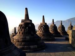 Borobudur Temple, Java (PeterCH51) Tags: morning indonesia temple java unesco explore yogyakarta borobudur worldheritage iphone explored inexplore borobudurtemple peterch51