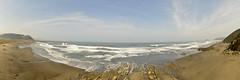 Panorámica Playa de Los Quebrantos