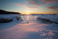 Entre deux glaces (Clement Blais) Tags: hiver paysage charlevoix fleuve
