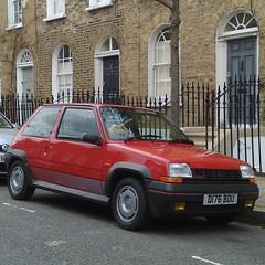 γ (uk_senator) Tags: red 5 renault turbo gt 1986 r5 gtt r5gtt