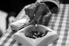 IlGiovediDiDomenico_23 (Naraphotos) Tags: portrait bar hands hand tram oldman mani mano spaghetti autobus ritratto caff reportage domenico sigarette panchina trattoria solitudine rotaie anziano amatriciana stampella gioved tranquilli