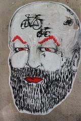 Yuri Romagnoli_6617 rue de Candie Paris 11 (meuh1246) Tags: streetart paris vlo paris11 hopnn ruedecandie yuriromagnoli