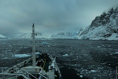 Ice ho! (timzladen) Tags: cruise ice ship vessel iceberg approach antarctic brash
