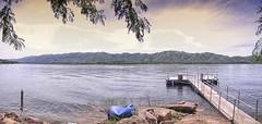Un Muelle (Mariano Montes   HDsuperbikeVideos) Tags: panorama argentina lago atardecer photography muelle panoramica sierras fotografia crdoba montaas lagosanroque crdobaargentina sierrasdecrdoba valledepunilla parquesiquiman