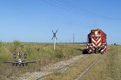 Empalme Piedra Echada (claudiog.carbone) Tags: generalmotors ferrocarrilesargentinos gr12 fepsa ferrocarrilgeneralroca empalmepiedraechada