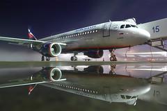 The fog is coming (Oleg Botov) Tags: sky plane airport aircraft aviation airbus spotting airliners a320 avia aeroflot svo  planespotting airbus320   sheremetyevo  avgeek  botov  uuee   planeporn  crewlife slavniyoleg