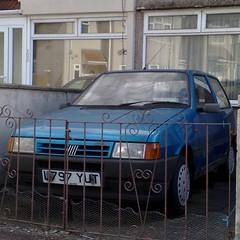 (uk_senator) Tags: blue start fiat uno mk2 1994