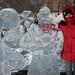Esculturas de gelo é o que mais tem