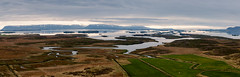 Iceland (SpechtPhotodesign) Tags: panorama mountains west water clouds sunrise landscape island iceland view vista landschaft sonnenaufgang overview wolkig