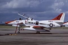 155083.NIR181085copy (MarkP51) Tags: plane airplane texas image aircraft aviation kodachrome douglas usnavy trainer nir milltary 155083 knir ta4j markp51 chasefieldnas