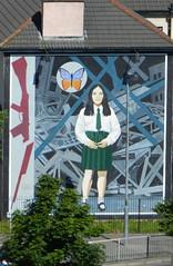 Mural politico en Londonderry Ulster Irlanda del Norte 06 (Rafael Gomez - http://micamara.es) Tags: ireland del mural united kingdom ciudad londonderry british northern islas isles norte irlanda ulster reino unido politico britanicas uladh cuige