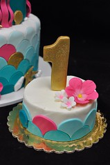 mermaid smash cake (jennywenny) Tags: cake smash mermaid