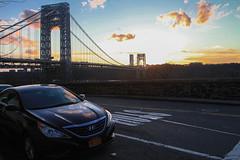 misc-2-2 (Sharese Ann Frederick) Tags: nyc newyorkcity sunset hudsonriver gothamist gwb georgewashingtonbridge washingtonheights riversidedrive uppermanhattan hudsonheights