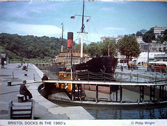Adolf Bratt in Cumberland Basin Lock Hotwells Bristol (Boxbrownie3) Tags: bristol locks tug clifton towing hotwells bratt cumberlandbasin trampsteamer cjking adolfbratt