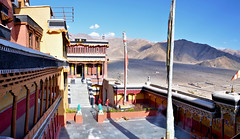 Thiksay Monastery (pallab seth) Tags: city travel india mountain tourism asia tour monastery valley lama leh himalayas thikse highaltitude gompa jammuandkashmir indusvalley thiksay thikseygompa