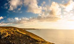 Chapel Porth (bertrandlamy) Tags: ocean longexposure sea sun mer seascape france clouds canon landscape soleil brittany bretagne exposition paysage bord couch longue 40d