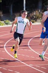 Austin in the 200m (Malcolm Slaney) Tags: track paloalto 200m losaltos 2016 paly