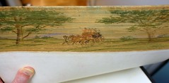 "Fore-edge painting: Volume 2 of ""The Poetical Works of Henry Wadsworth Longfellow:  Illustrated."" Boston: Houghton Mifflin, 1882. (lhboudreau) Tags: trees horses horse tree art leather illustration painting book poetry poem carriage illustrated paintings illustrations books bookcover poems longfellow bookcovers hardcover poetical 1882 houghtonmifflin vintagebook antiquebooks henrywadsworthlongfellow antiquebook leatherbound vintagebooks volumetwo volume2 hardcovers hardcoverbooks leatherbinding hardcoverbook foreedgepainting poeticalworks antiquevolume thepoeticalworks foreedgepaintings antiquevolumes foliosize poeticalworksofhenrywadsworthlongfellow thepoeticalworksofhenrywadsworthlongfellow thepoeticalworksoflongfellow"