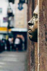 Gregos. (Paul_Munford) Tags: street london face dof 1855mm bricklane londonstreets gregos gregors londonstreetart vsco fujixe2