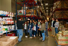 Touring the food bank and learning about poverty (CCIGreenheart) Tags: travel family food pennsylvania philippines central bank international volunteering abroad service leaders exchange harrisburg cci cultural global foodbank swt greenheart