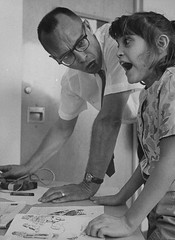 Psychologist, Ole Ivar Lvaas, using shock treatment to teach a nine-year-old autistic child to read. California. 1964 [1240 x 1702] #HistoryPorn #history #retro http://ift.tt/1SMJhOQ (Histolines) Tags: california history child ole x retro read using timeline shock ivar teach 1964 treatment 1702 autistic psychologist vinatage 1240 nineyearold historyporn lvaas histolines httpifttt1smjhoq