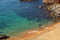 ESPANHA - Tossa del Mar (Infinita Highway!) Tags: trip travel praia beach nature del mar spain espanha europa europe sony natureza viagem alpha tossa catalunia infinitahighway
