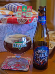 Bush Nol (Mike Serigrapher) Tags: christmas beer bush ale nol