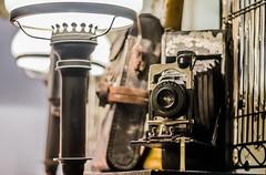 Folding Camera (WC Photography) Tags: camera old vintage photography nikon antique cameraporn victo foldingcamera wollensak nikond5100