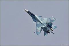 Sukhoi Su-30SM (Sokoly Rossii) (Pavel Vanka) Tags: plane airplane fighter russia aircraft jet airshow su30 spotting sukhoi spotter flanker kubinka thrustvectoring russianairforce uumb su30sm army2015