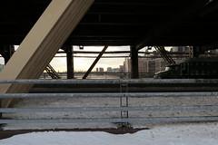 Queensboro Bridge, New York (lotos_leo) Tags: street urban ny newyork metal architecture graphics iron geometry line beam queensborobridge