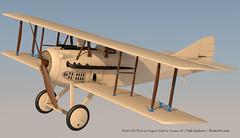 SPADXIII-WIP 102 (StratoArt) Tags: history 3d aircraft aviation military wwi cinema4d warbird biplane warplane spad xiii