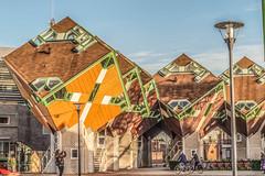 Helmond City (michelwalbeek) Tags: city cube kubus kubuswoning cubehouse helmond paalwoning