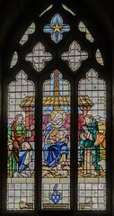 Upton (Notts) Ss Peter & Paul church, East window (Jules & Jenny) Tags: stainedglasswindow nottinghamshire upton notts peterpaulchurch