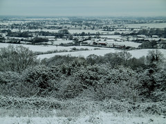 View from Ridge at Hartshill Hayes Country Park (Eeee Bi Gum) Tags: england snow unitedkingdom warwickshire hartshillhayescountrypark