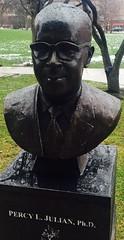 Percy Julian (Crawford Brian) Tags: park bronze oak julian bust oakpark percy scoville percyjulian