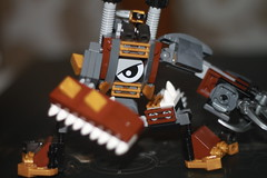 Tooth and Nail 2 (kyreii) Tags: lego mech steampunk moc mixels