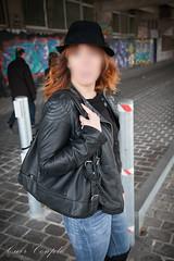 elle170 (Cuir Couple) Tags: leather mistress leder pant pantalon cuero cuir hosen maitresse